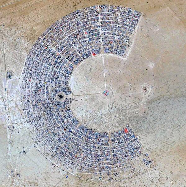 The Burning Man festival, NV, USA