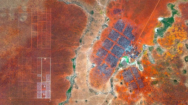 The Dadaab refugee camp, Kenya