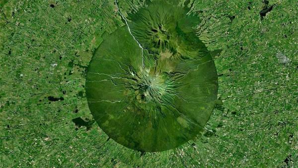 mountain Taranaki, North island, New Zealand