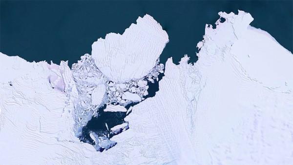 The destruction Zapadnosibirskogo ice sheet, the Amundsen sea