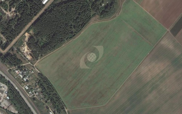 Mysterious pattern on the field to the East of the neighborhood Koltsovo, Ekaterinburg