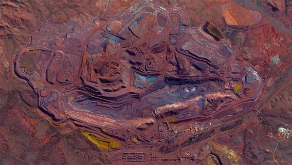 Iron ore mount Welbeck, Australia