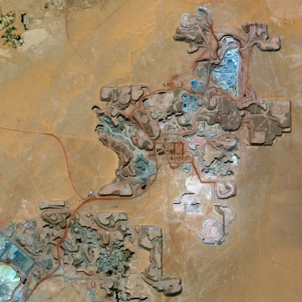 "Niger, a Uranium mine ""Arlit"""