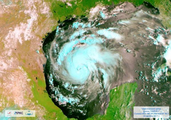 "Ураган ""Харви"" 24 августа 2017 года"