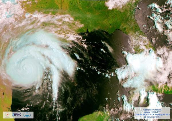 "Ураган ""Харви"" 25 августа 2017 года"