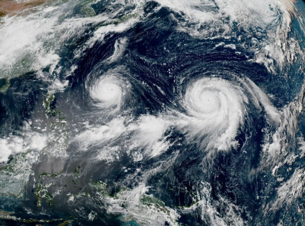 Тайфун Гони и Атсани
