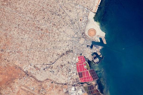 Порт Сфакс в Тунисе