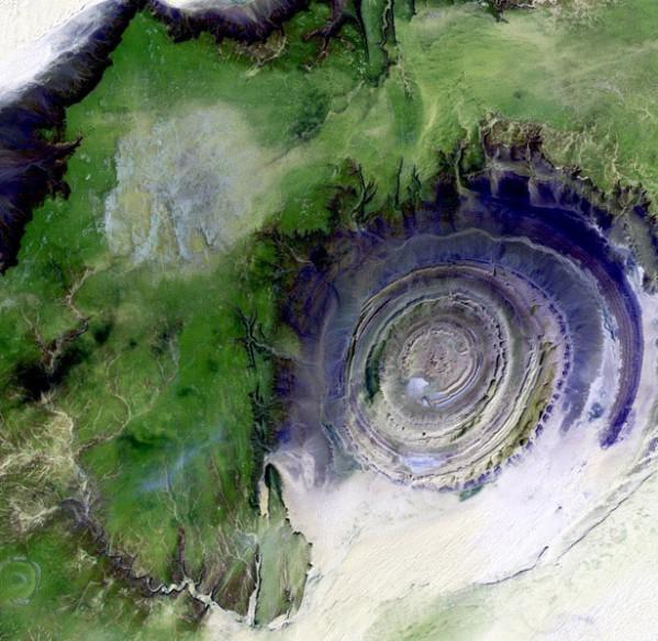 Геологическая структура Ришат
