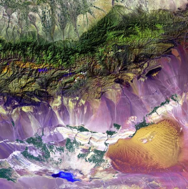 Горы Богда в Китае