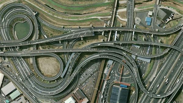 Транспортный узел Оямадзаки, Япония