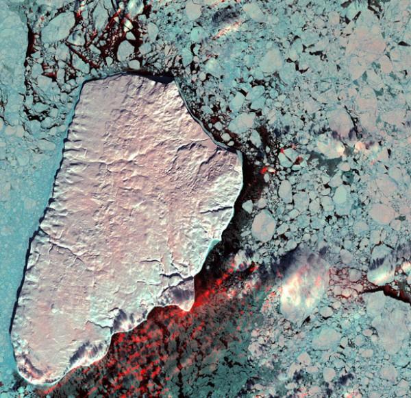 Akpatok island of the Canadian Arctic archipelago