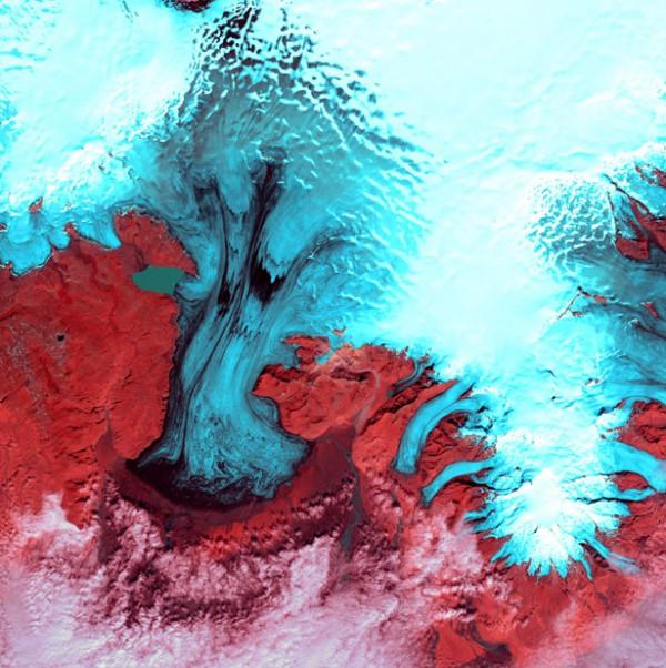 Ледник Ватнаёкуль, Исландия