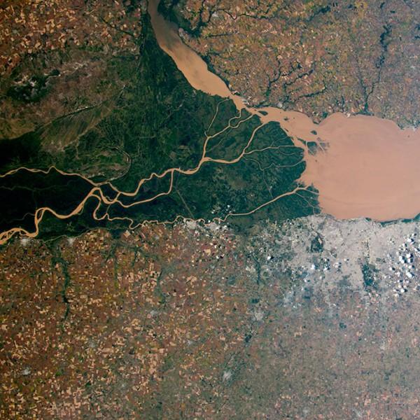 Река Парана в Аргентине