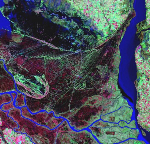 Дельта реки Парана