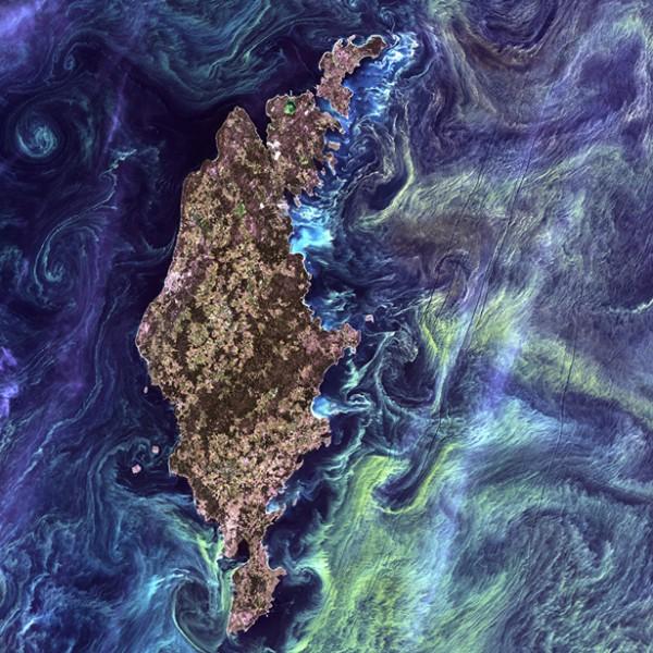 Остров Готланд в Балтийском море