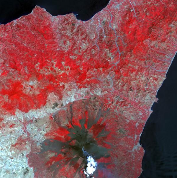 Вулкан Этна, Италия