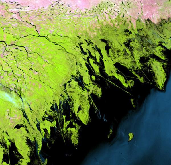 Volga river basin, Russia
