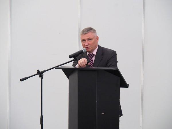 """General Director of JSC """"Roskartografiya"""" D. Krasnikov"""